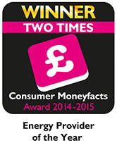 Consumer Money Facts Awards Logo - 2014 and 2015