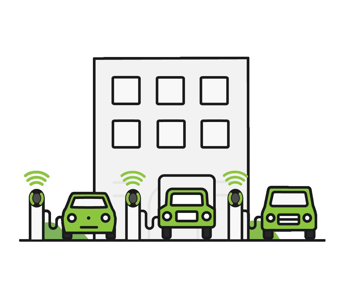 Pod Point fleet charging icon