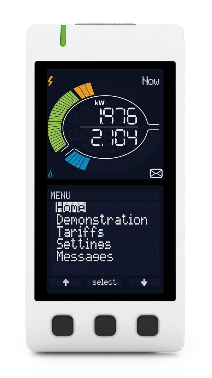 Home Energy Meter : Home energy monitor type two edf