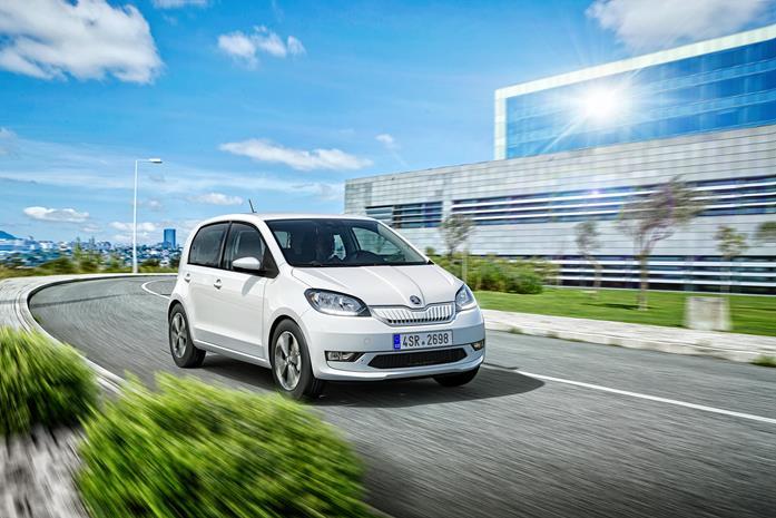 Skoda Citigo-E iV electric car