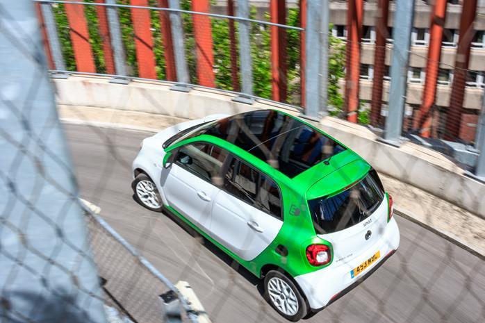 Smart EQ Forfour electric car
