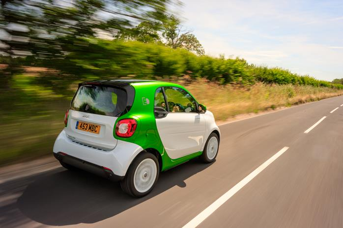 Smart EQ ForTwo coupe electric car