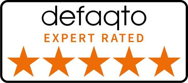 Defaqto 5 star rating