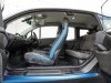 BMW i3 120Ah interior view cabin seating doors open