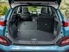 Hyundai Kona Electric rear view boot storage open