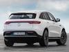 Mercedes EQC AMG Line rear shot in white