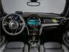 MINI Electric interior view dashboard digital display seating