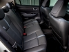 Nissan LEAF interior view cabin rear seating