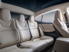 Tesla Model S interior view seating panoramic roof