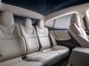 Tesla Model S interior view seating panoramic roof