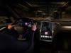 Tesla Model X interior view console