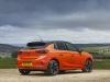 vauxhall corsa-e rear 3qtr shot in orange