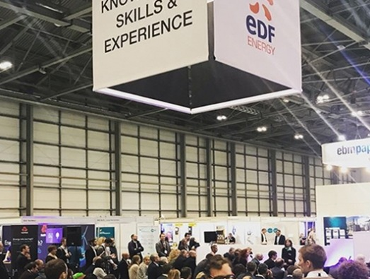 The Skills, Knowledge and Experience Theatre at EMEX 2018.