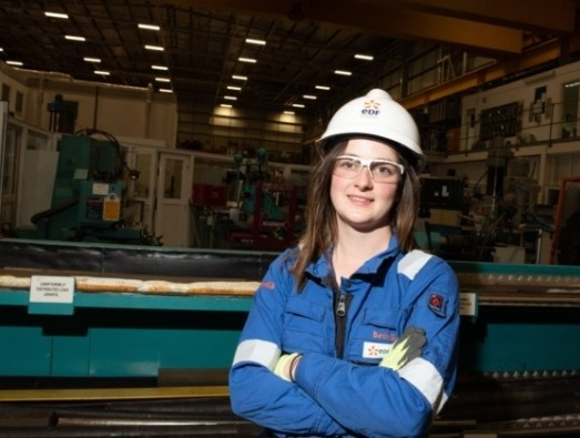 Beth Gant an engineer at our Sizewell B site