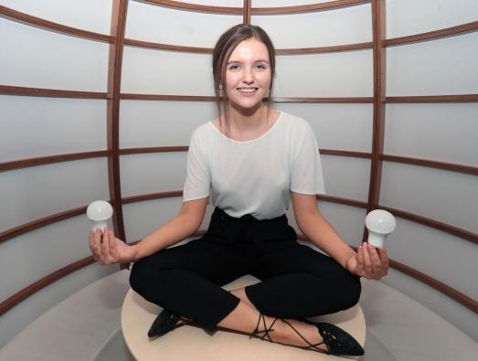 Catherine Finnes EDF Blue Lab Graduate