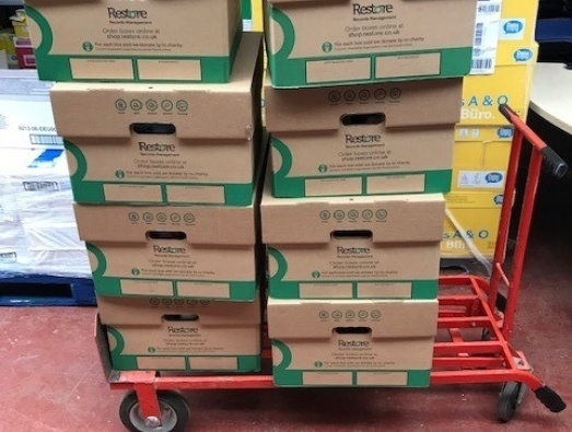 Food donation by EDF catering services to help charities during the Coronavirus crisis