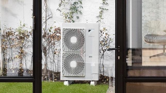 Daikin air source heat pumps