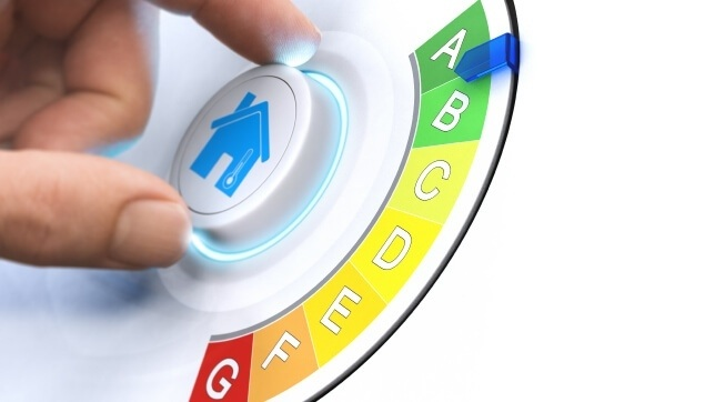 Energy Company Obligation ECO scheme efficiency rating dial