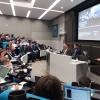 Niall Riddell speaks at the Energyst EV Summit.