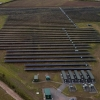 Solar and battery assets at the Clayhill solar farm.