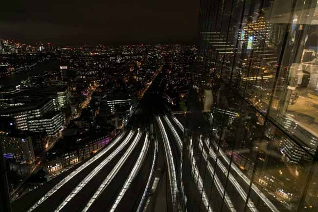 View from The Shard. Tom Hampson of Visual Eye Photography.
