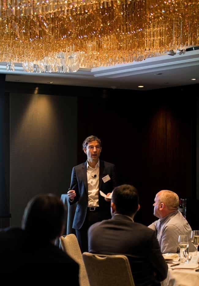 EDF Energy's Matthieu Hue.