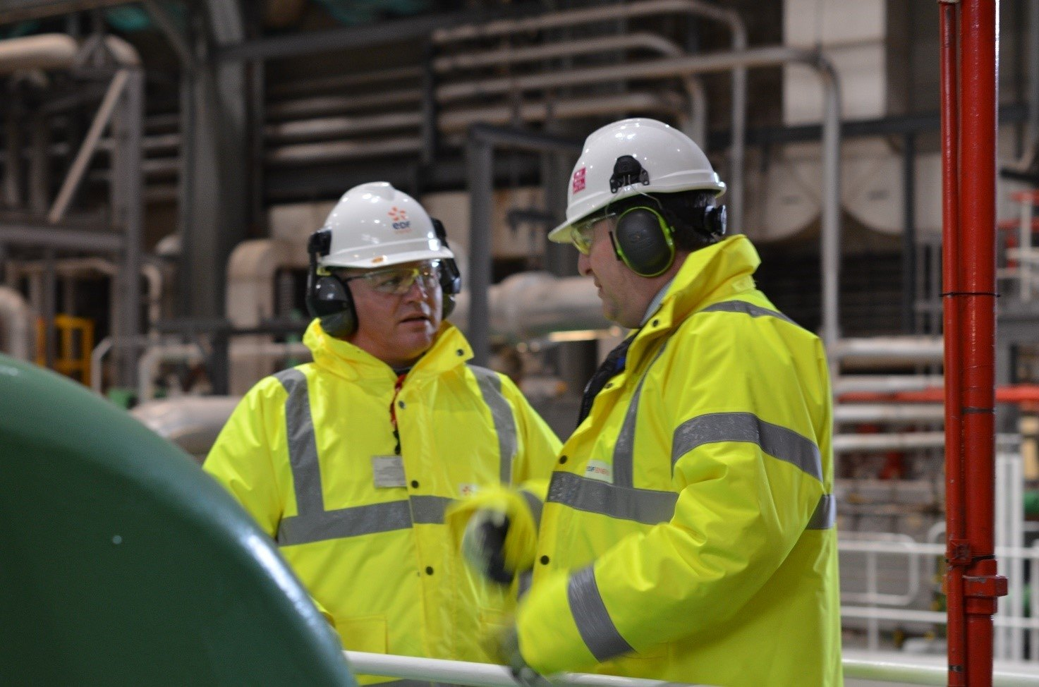 Folkestone and Hythe MP Damian Collins visits Dungeness B