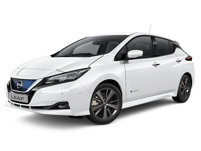 Nissan Leaf Acenta in Arctic White
