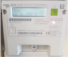 l and g electric smart meter