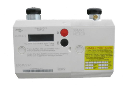 l and g gas smart meter