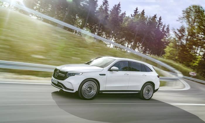 Mercedes Benz EQC electric car