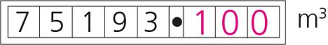 gas digital meter
