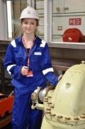 Sizewell B work experience student Maddie Buzzard