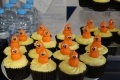 Zingy cupcakes made by a member of staff to mark the occasion