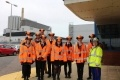 Students from Cheam High School toured Dungeness B for British Science Week
