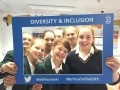 Saint Felix students taking their selfie