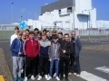 Construction pupils from Musselburgh Grammar at Torness power station