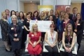 EDF Energy is celebrating raising almost £1million for Marie Curie as its partnership with the charity comes to an end.