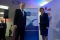 EDF Energy CEO Vincent de Rivaz and First Minister of Scotland Nicola Sturgeon mark the signing of the Scottish Business Pledge