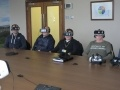 Staff at Hunterston B experience the station's new virtual reality safety video