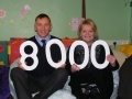 Torness Station Director, Paul Winkle meets Service Manager, Gill Cripps, to present Aberlour Options Lothian with £8,000