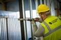 Caledonian employee working on the HPC accomodation units