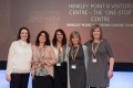 From left are EDF Energy's HR Director Generation Ann-Marie Robson and Hinkley Point Visitor Centre team members Sherryl Sellick, Marie Howe, Sue Butler and Caroline Woods.