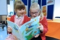 Amelie and Lily from Coldfair Green Primary School