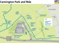 Cannington park and ride.