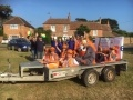 EDF Energy carnival float at Lydd Club Day 2017