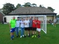 Andy also organised a charity football match earlier in the month