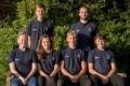 Dungeness B's new recruits, left to right: Thomas Wrout, Aaron Haynes (back row) and Emily Teehan, Emily Arnold, Brandon Law, Henry Donoghue (front row)