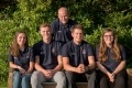 Roger Barge with Sizewell B apprentices (2017 intake)