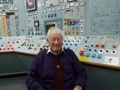 Raymond visited a replica of the control room that he was involved in designing